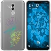 Huawei Mate 20 Lite Silicone Case floral M7-4