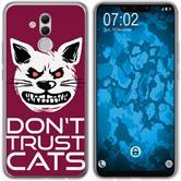 Huawei Mate 20 Lite Silicone Case Crazy Animals M1