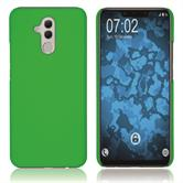Hardcase Mate 20 Lite rubberized green Cover