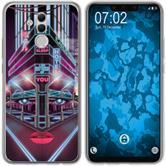 Huawei Mate 20 Lite Silicone Case Retro Wave M5