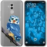 Huawei Mate 20 Lite Silicone Case vector animals M1