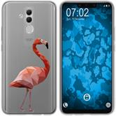 Huawei Mate 20 Lite Silicone Case vector animals M2
