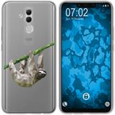 Huawei Mate 20 Lite Silicone Case vector animals sloth M6