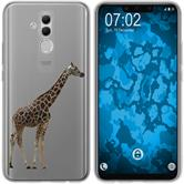 Huawei Mate 20 Lite Silicone Case vector animals M8
