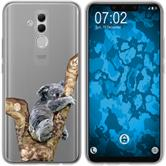 Huawei Mate 20 Lite Silicone Case vector animals M9
