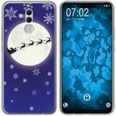Huawei Mate 20 Lite Silicone Case Christmas X Mas M4