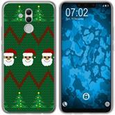 Huawei Mate 20 Lite Silicone Case Christmas X Mas M7