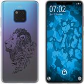 Huawei Mate 20 Pro Silicone Case floral M6-1