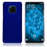 Hardcase Mate 20 Pro rubberized blue Cover