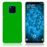 Hardcase Mate 20 Pro rubberized green Cover