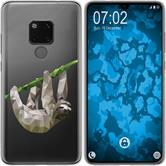 Huawei Mate 20 Silicone Case vector animals sloth M6