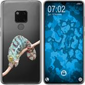 Huawei Mate 20 Silicone Case vector animals M7