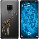 Huawei Mate 20 Silicone Case vector animals M8