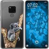 Huawei Mate 20 Silicone Case vector animals M9