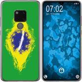 Huawei Mate 20 Silicone Case WM Brazil M3