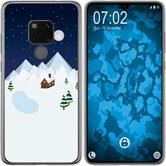 Huawei Mate 20 Silicone Case Christmas X Mas M6