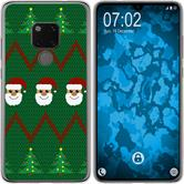 Huawei Mate 20 Silicone Case Christmas X Mas M7