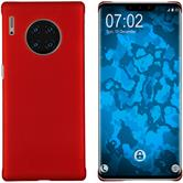 Hardcase Mate 30 Pro rubberized red Cover