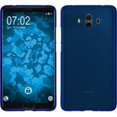Silicone Case Mate 10 matt blue Case