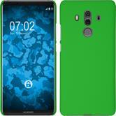 Hardcase Mate 10 Pro gummiert grün Case