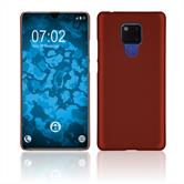 Silicone Case Mate 20 X rubberized red Cover