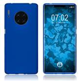 Silicone Case Mate 30 Pro matt blue Cover