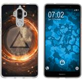 Huawei Mate 9 Pro Silicone Case Element fire M3
