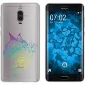Huawei Mate 9 Pro Silikon-Hülle Floral  M2-4