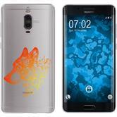 Huawei Mate 9 Pro Silikon-Hülle Floral  M3-2