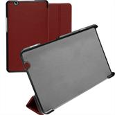 Artificial Leather Case MediaPad M3 8.4 Tri-Fold red