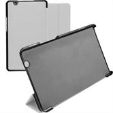 Artificial Leather Case MediaPad M3 8.4 Tri-Fold white