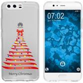 Huawei P10 Plus Silicone Case Christmas X Mas M1