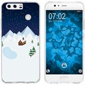 Huawei P10 Plus Silikon-Hülle X Mas Weihnachten  M6