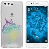 Huawei P10 Plus Silicone Case floral M2-4