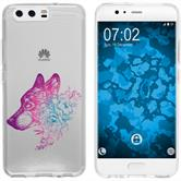 Huawei P10 Plus Silicone Case floral M3-6