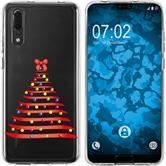 Huawei P20 Silicone Case Christmas X Mas M1