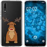 Huawei P20 Silicone Case Christmas X Mas M3
