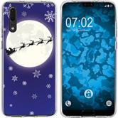 Huawei P20 Silicone Case Christmas X Mas M4