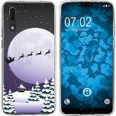 Huawei P20 Silicone Case Christmas X Mas M5