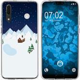 Huawei P20 Silicone Case Christmas X Mas M6