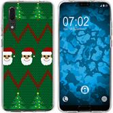 Huawei P20 Silicone Case Christmas X Mas M7