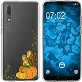 Huawei P20 Silicone Case autumn M5