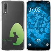Huawei P20 Silicone Case Easter M2