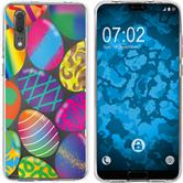 Huawei P20 Silicone Case Easter M3