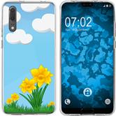 Huawei P20 Silicone Case Easter M4