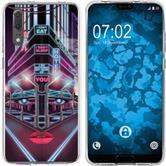 Huawei P20 Silicone Case Retro Wave M5