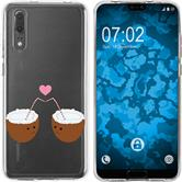 Huawei P20 Silicone Case summer M3