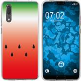 Huawei P20 Silicone Case summer M5