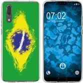 Huawei P20 Silicone Case WM Brazil M3