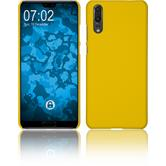 Hardcase P20 rubberized yellow Case